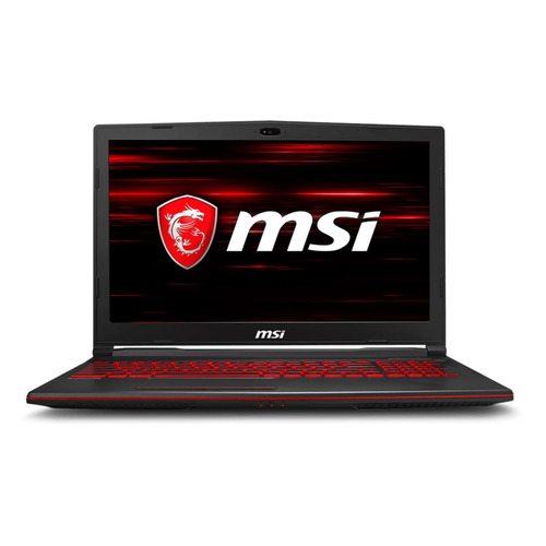 Ноутбук MSI GL63 8RCS-039XRU, 15.6, Intel Core i7 8750H 2.2ГГц, 8Гб, 1000Гб, nVidia GeForce GTX 1050 - 4096 Мб, noOS, 9S7-16P812-039, черный ноутбук msi ge73 8rf 093ru intel core i7 8750h 2200 mhz 17 3 3840x2160 32768mb 512gb hdd dvd нет nvidia geforce gtx 1070 wifi windows 10 home