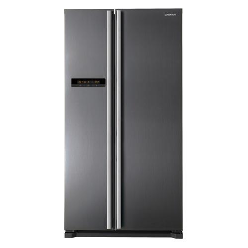 Холодильник DAEWOO FRN-X600BCS, двухкамерный, серебристый цены