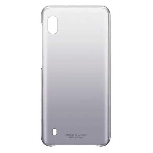 Чехол (клип-кейс) SAMSUNG Gradation Cover, для Samsung Galaxy A10, черный [ef-aa105cbegru] EF-AA105CBEGRU