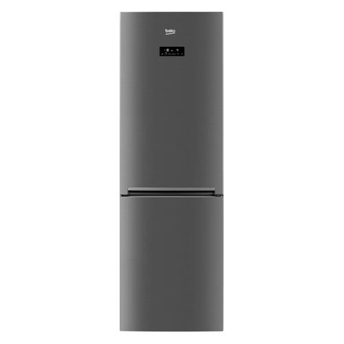 Холодильник BEKO RCNK321E20X, двухкамерный, серебристый