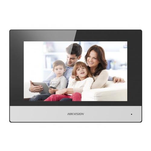 Видеодомофон HIKVISION DS-KH6320-WTE1, белый видеодомофон hikvision ds kh6310 w белый