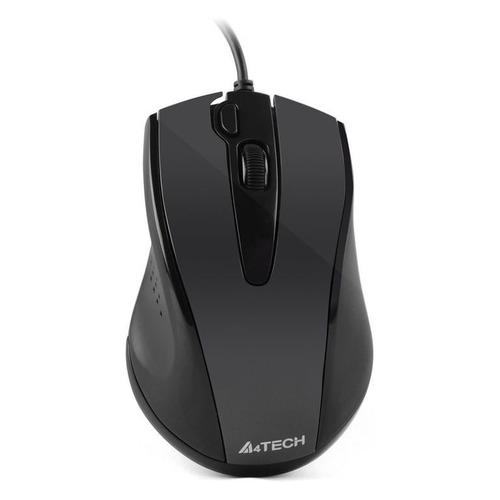 Мышь A4 V-Track Padless N-500FS, оптическая, проводная, USB, черный мышь a4 v track padless n 770fx черный