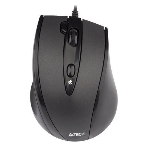 Мышь A4 V-Track Padless N-770FX, оптическая, проводная, USB, черный мышь a4 v track padless n 770fx черный