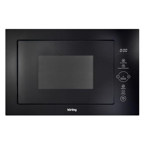 цена на Микроволновая Печь Korting KMI825TGN 25л. 900Вт черный (встраиваемая)