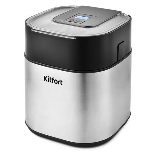Мороженица Kitfort КТ-1805 9.5Вт 1500мл. серебристый/черный