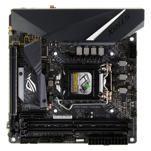 цена на Материнская плата ASUS ROG STRIX B360-I GAMING, LGA 1151v2, Intel B360, mini-ITX, Ret