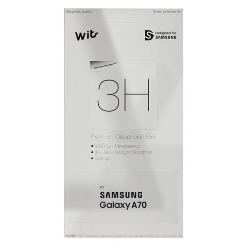 Защитная пленка для экрана SAMSUNG Wits для Samsung Galaxy A70, прозрачная, 1 шт [gp-tfa705wsatw] стоимость