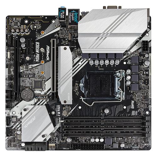 Материнская плата ASROCK B365M PRO4, LGA 1151v2, Intel B365, mATX, Ret цена 2017