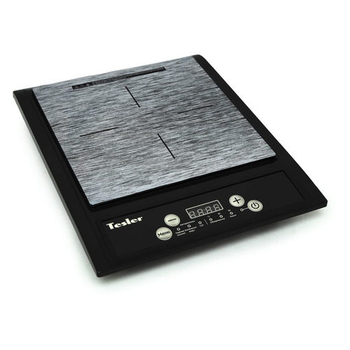 Плита Электрическая Tesler PI-13 черный/серый стеклокерамика (настольная)