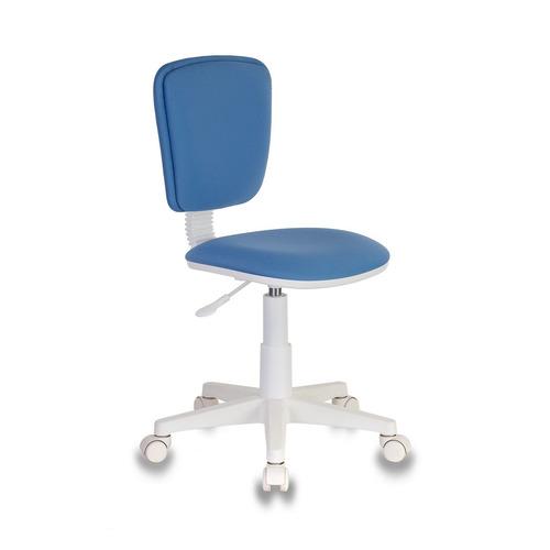 Фото - Кресло детское БЮРОКРАТ CH-W204NX, на колесиках, ткань, голубой [ch-w204nx/26-24] ch w201nx 26 24