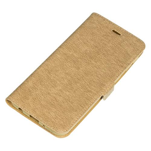 Чехол (флип-кейс) DF sFlip-43, для Samsung Galaxy A40, золотистый [df sflip-43 (gold)]