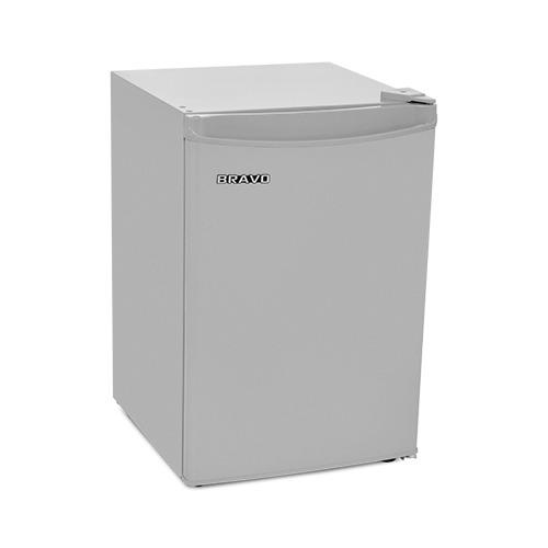 Холодильник BRAVO XR 80 S, однокамерный, серебристый