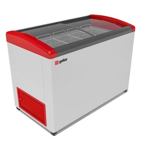 Морозильный ларь GELLAR FG 400 E красный