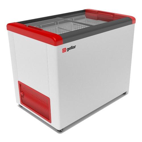 Морозильный ларь GELLAR FG 350 C красный
