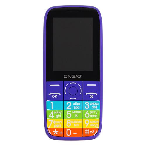 Мобильный телефон ONEXT Lollipop 3G фиолетовый телефон onext care phone 6 красный