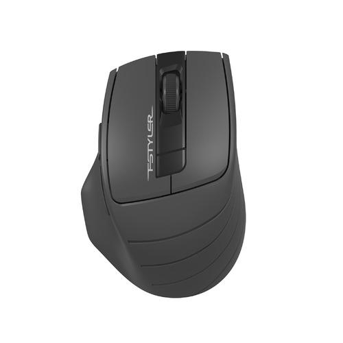 Мышь A4 Fstyler FG30, оптическая, беспроводная, USB, серый мышь беспроводная a4tech fstyler fg30 серый оранжевый usb