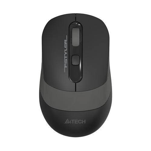Мышь A4 Fstyler FG10, оптическая, беспроводная, USB, черный и серый [fg10 grey] мышь a4 bloody p91 pro черный 16000dpi usb2 0 8but