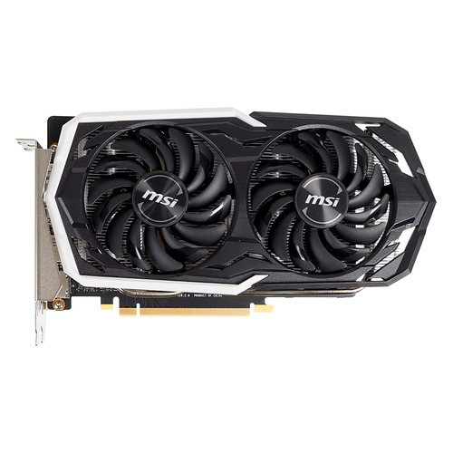 Видеокарта MSI nVidia GeForce GTX 1660 , GTX 1660 ARMOR 6G, 6Гб, GDDR5, Ret evga 04g p4 2980 kr nvidia geforce gtx 980 4gb gddr5 dvi hdmi 3displayport pci express video card
