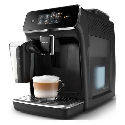 Кофемашина PHILIPS EP2231/40, черный/серебристый цена