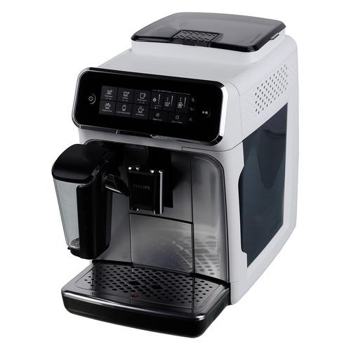 Кофемашина PHILIPS EP3243/70, белый/серебристый цена