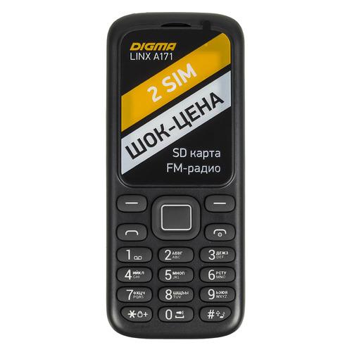 Мобильный телефон DIGMA Linx A171, черный