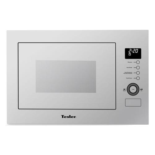 Микроволновая Печь Tesler MEB-2590 W 25л. 900Вт белый (встраиваемая) микроволновая печь tesler meb 2385b