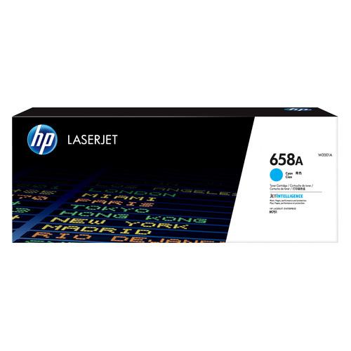 Фото - Картридж HP 658A, голубой / W2001A картридж hp 658a лазерный черный