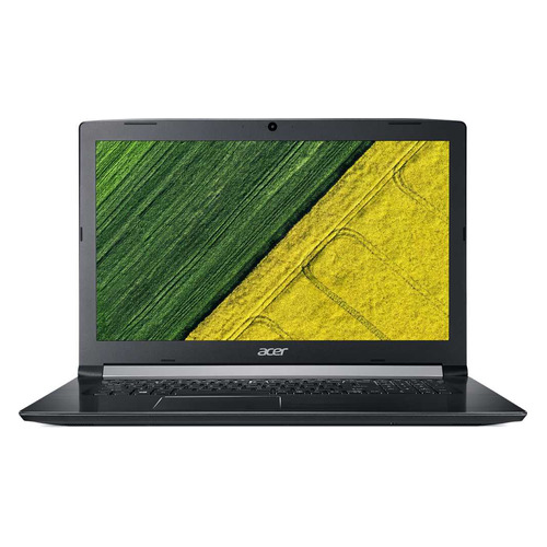 "Ноутбук ACER Aspire A517-51G-35V2, 17.3"", Intel Core i3 8130U 2.2ГГц, 4Гб, 1000Гб, nVidia GeForce Mx130 - 2048 Мб, DVD-RW, Linux, NX.GVQER.010, черный acer aspire e5 772 17 3 intel core i3 2000мгц 4гб ram dvd rw 1тб черный wi fi linux bluetooth"