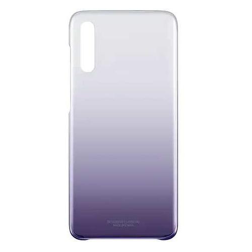 Чехол (клип-кейс) SAMSUNG Gradation Cover, для Samsung Galaxy A70, фиолетовый [ef-aa705cvegru] EF-AA705CVEGRU