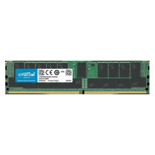 Память DDR4 Crucial CT32G4RFD4293 32Gb DIMM ECC Reg PC4-23400 CL21 2933MHz