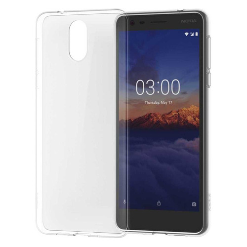 Чехол (клип-кейс) NOKIA Clear Case CC-108, для Nokia 3.1, прозрачный [1a21t5w00va] чехол nokia cc 505 для nokia 6 1 iron red