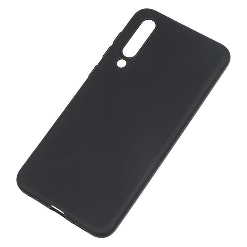 Чехол (клип-кейс) BORASCO для Xiaomi Mi 9 SE, черный (матовый) [36809]