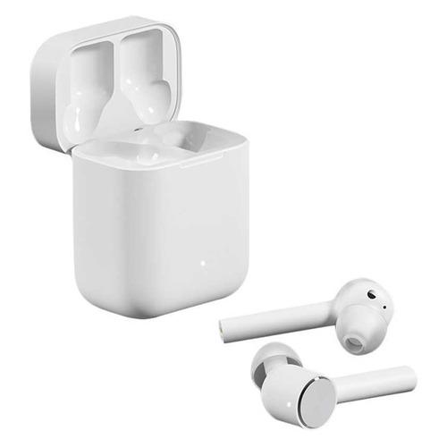 Наушники с микрофоном XIAOMI Mi True Wireless Earphones, Bluetooth, вкладыши, белый [zbw4485gl] наушники с микрофоном harper hb 302 bluetooth вкладыши белый [h00002046]