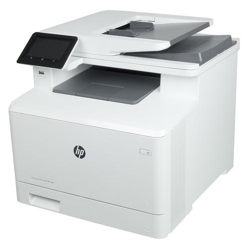 Фото - МФУ лазерный HP Color LaserJet Pro M479dw, A4, цветной, лазерный, белый [w1a77a] сиденье для унитаза primanova salima 45 37 4 см
