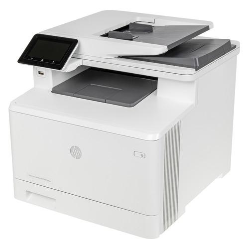 Фото - МФУ лазерный HP Color LaserJet Pro M479fnw, A4, цветной, лазерный, белый [w1a78a] мфу лазерный hp color laserjet pro m479fnw a4 цветной лазерный белый [w1a78a]