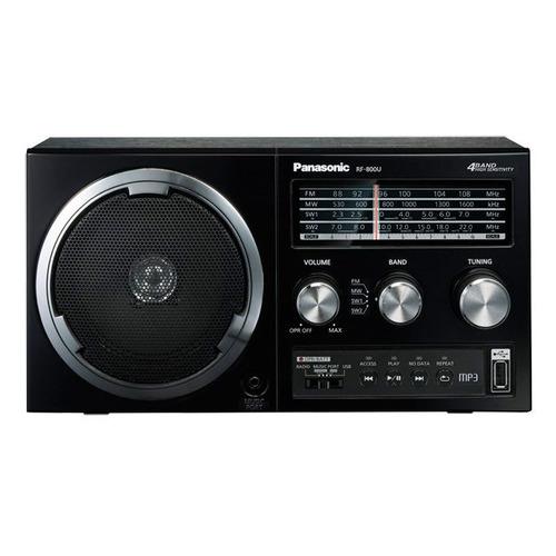 Фото - Радиоприемник PANASONIC RF-800UEE1-K карманный радиоприемник panasonic rf p50deg