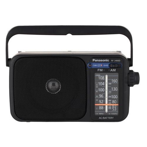цена Радиоприемник PANASONIC RF-2400DEE-K, черный