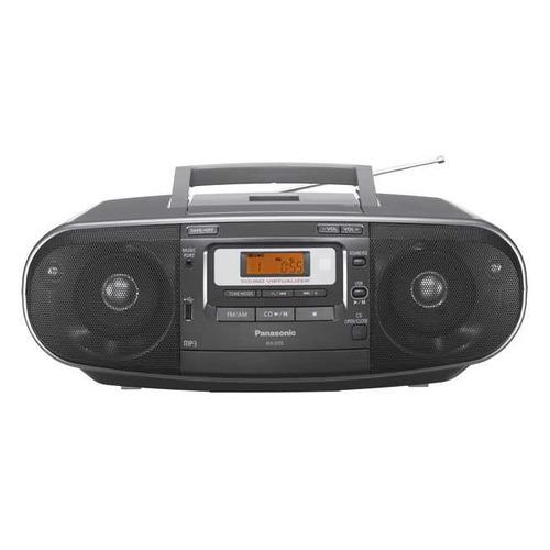цена на Аудиомагнитола PANASONIC RX-D55EE-K, черный