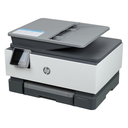 Фото - МФУ струйный HP Officejet Pro 9013 AiO, A4, цветной, струйный, белый [1kr49b] мфу струйный hp smart tank 615 aio a4 цветной струйный черный [y0f71a]