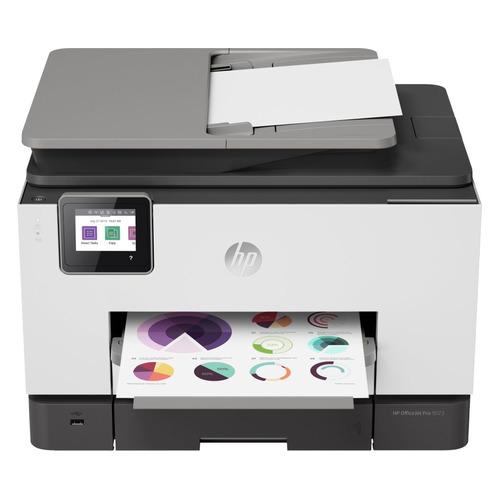 Фото - МФУ струйный HP Officejet Pro 9023 AiO, A4, цветной, струйный, белый [1mr70b] мфу струйный hp smart tank 615 aio a4 цветной струйный черный [y0f71a]