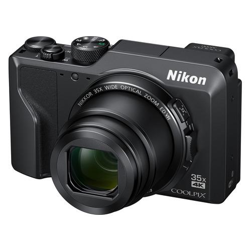 Фото - Цифровой фотоаппарат NIKON CoolPix A1000, черный фотоаппарат nikon coolpix w300 камуфляж