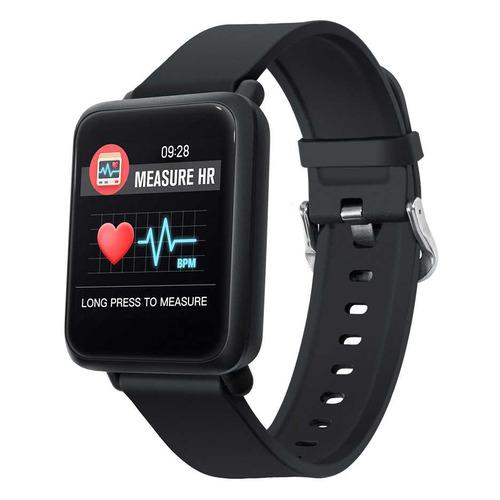 Смарт-часы DIGMA Smartline D1, 1.3, черный / черный [d1b] цена