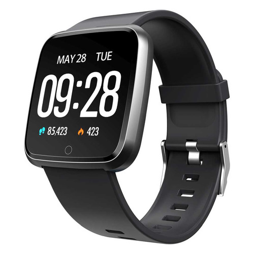 Смарт-часы DIGMA Smartline H3, 1.3, черный / черный [h3b] цена