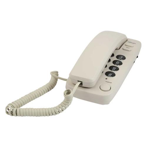 Проводной телефон RITMIX RT-100, белый проводной телефон ritmix rt 330 белый