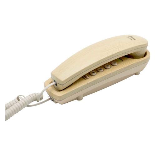 Проводной телефон RITMIX RT-005, бежевый проводной телефон ritmix rt 005 черный