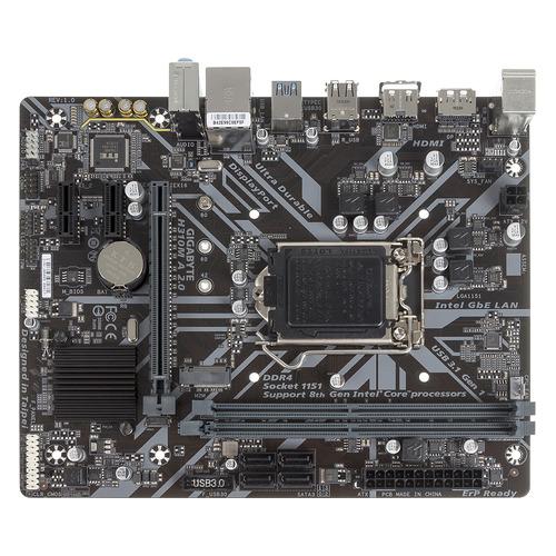 Материнская плата GIGABYTE H310M A 2.0, LGA 1151v2, Intel H310, mATX, Ret цена и фото