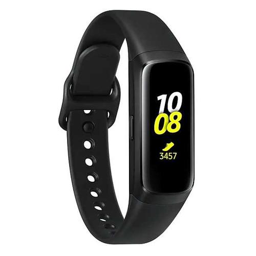 Смарт-часы SAMSUNG Galaxy Fit, 0.95, черный / черный [sm-r370nzkaser]
