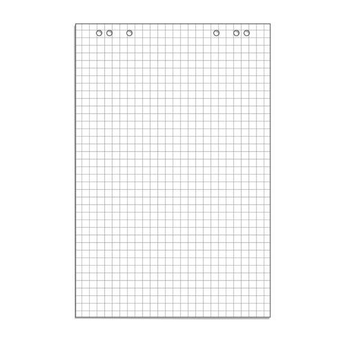 Фото - Блок бумаги для флипчартов 445526 белый клетка 20лист. (упак.:1шт) держатель для туалетной бумаги tatkraft дельфины