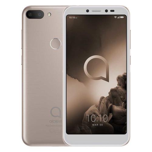 Смартфон ALCATEL 1S 32Gb, 5024D, золотистый металлик