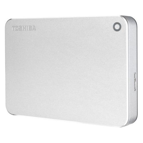 Фото - Внешний жесткий диск TOSHIBA Canvio Premium HDTW240ES3CA, 4ТБ, серебристый внешний жесткий диск toshiba canvio basics hdtb440ek3ca 4тб черный